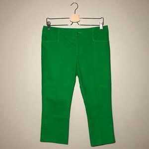 Anthropologie Cartonnier Cropped Chinos